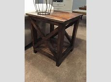 Diy End Tables Ideas Farmhouse On Furniture Of America