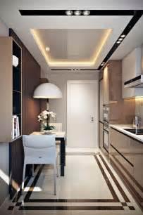 cuisine d appartement salle à manger design dans un petit appartement de ville