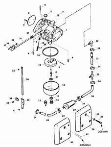 Force 120 Hp  1998  Carburetor Parts