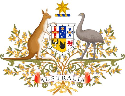 file coat of arms of australia svg wikivisually