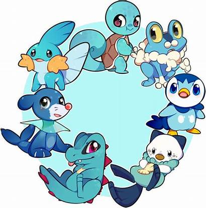 Pokemon Starter Charmander Piplup Squirtle Type Starters