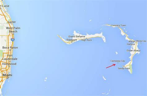 maps  castaway cay