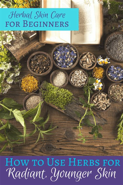 herbal skin care  beginners simple pure beauty