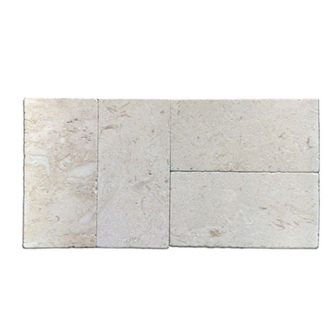 shell stone tumbled paver