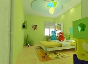 Ideen Für Kinderzimmer Wandgestaltung : 100 ideen f r wandgestaltung in gr n archzine net farben ~ Lizthompson.info Haus und Dekorationen