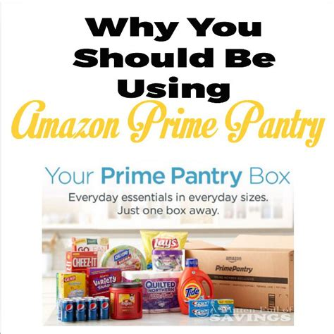 what is prime pantry frugal reasons to use prime pantry