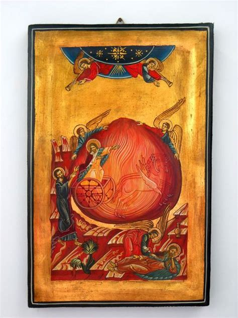saint prophet eliasrussian byzantin icon  storenvy