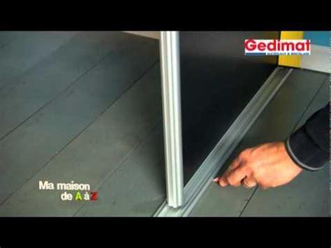 comment ouvrir une porte de chambre bloqu monter un placard sous pente gedimat ma maison de a à