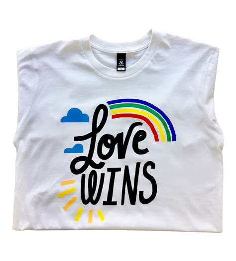 Love Wins T-shirt - Centre for Excellence in Child and Family Welfare