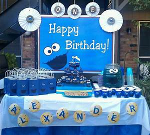 Cookie Monster Birthday Party Ideas