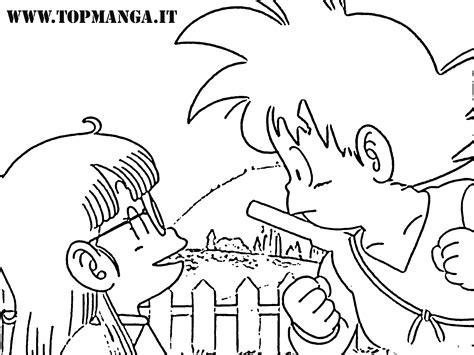 immagini da colorare  arale anime  manga topmanga