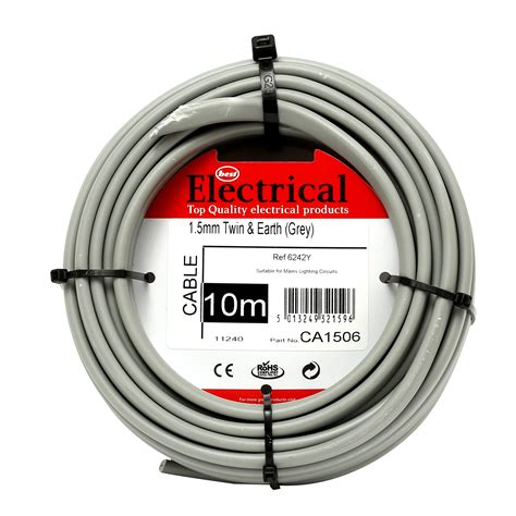 Best Electrical Twin Earth Grey Wiring Cable