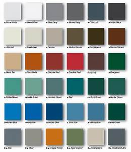 how to pick the right metal roof color consumer guide 2018 With colored metal roof panels