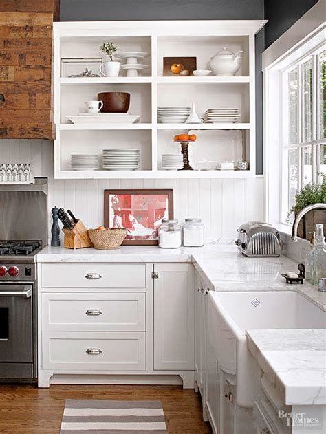 How to Convert Kitchen Cabinets to Open Shelving   Better