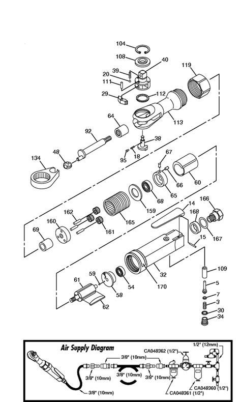 Chicago Pneumatic CP824 Parts List | Chicago Pneumatic