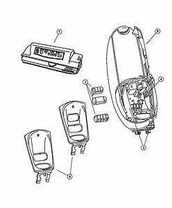 2002 Dodge Caravan Module  Electronic  Overhead Console  Trim   All Trim Codes