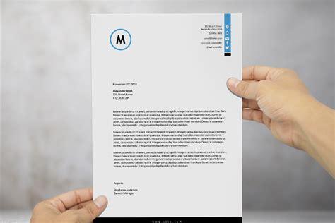beautiful  docx letterhead template