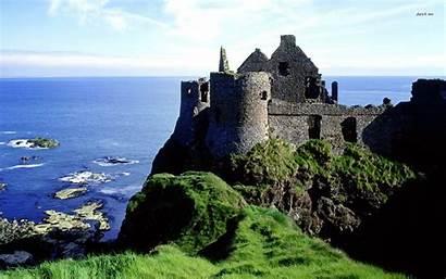 Ireland Wallpapers Desktop Castle Dunluce Wallpapersafari