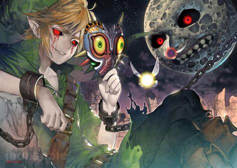 Zelda Majoras Mask Dark Moon Fan Art Fanart