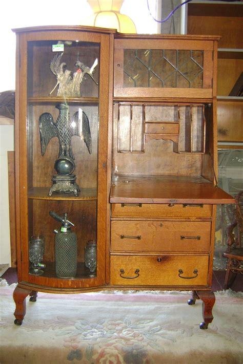 antique secretary desk side by side