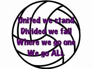 268 best Volley... Volleyball Cheers Quotes