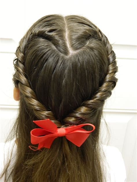 easy twisted heart valentines day hairstyle bonita