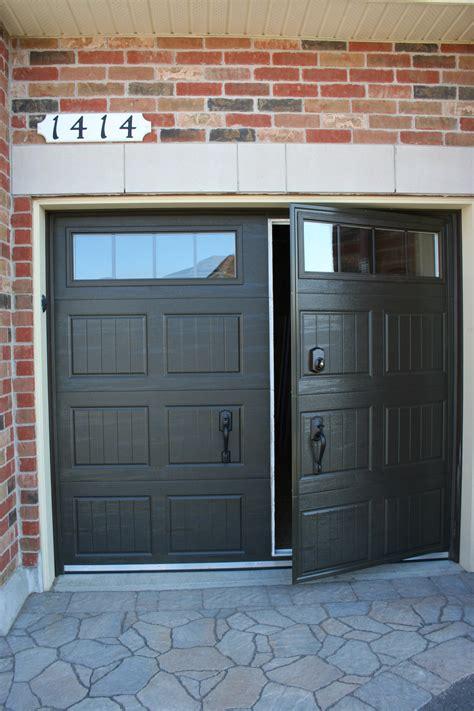 residential walk  garage door installation repair
