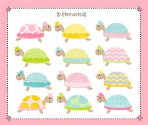 Turtle Baby Shower Clip Art