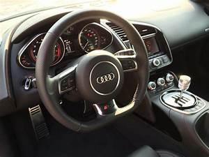 Fs  2014 Audi R8 V10 Manual Transmission Ibis White