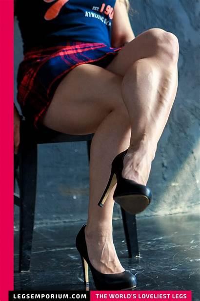 Legs Crossed Strong Powerful Short Alexandra Legsemporium