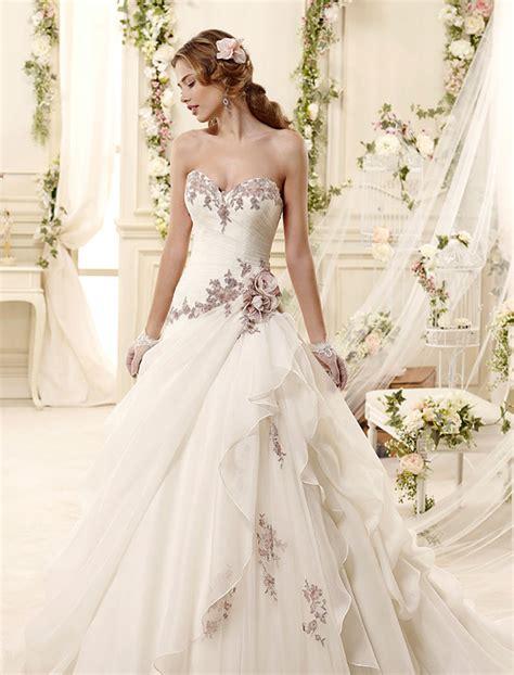 swoonworthy wedding dresses inspired flowers