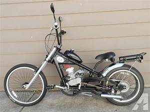 Motorized Bike Schwinn Stingray Occ Chopper W 66cc
