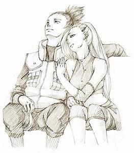 Request: Shikamaru Ino by cho-zero on DeviantArt