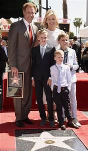 Will Ferrell with wife Viveca and their 3 sons as he ...