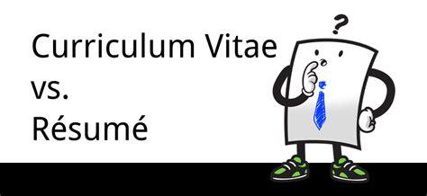 Curriculum Vitae Vs Resume Yahoo by Resume Format