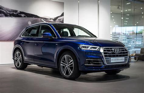 Blue Audi Q5 by 2017 Audi Q5 In Navarra Blue Metallic On Display In