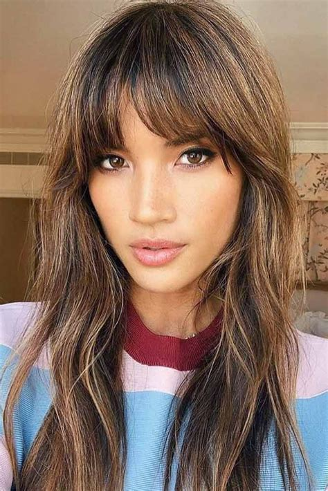 15 Trendy Hairstyles For Long Faces Makeup and Beauty