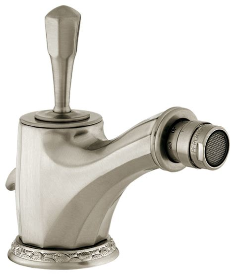 Bidet Taps by Adriatica Bidet Monolever Joystick Faucet Traditional