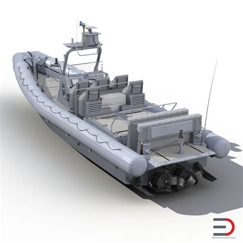 Old Zodiac Boat Models by 3d Model Of Naval Special Warfare Rigid Hull Inflatable
