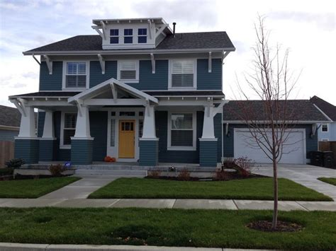 blue and mustard house exterior search house color schemes exterior house colors