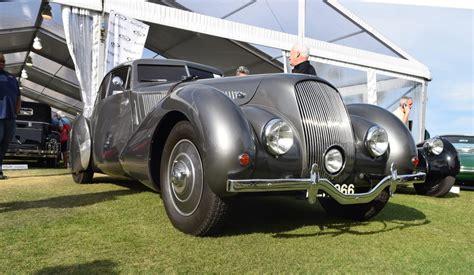 1939 Bentley 425 Litre Embiricos Coupe Amelia Island Rm