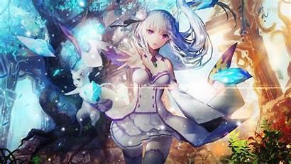 Anime Zero Re Emilia Wallpapers Rezero Background