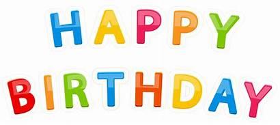 Birthday Transparent Happy Clipart Clip Yopriceville Anniversaire