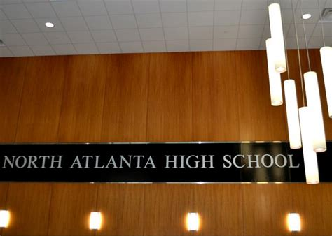 atlanta school district releases atlanta high school 845 | NAHS sign