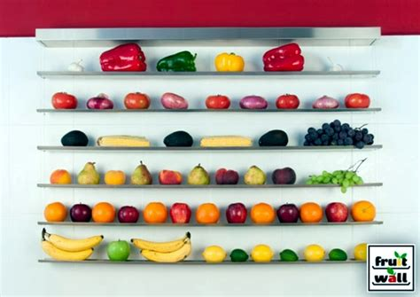 bathroom built in storage ideas organize practical wall shelf for fruits and vegetables
