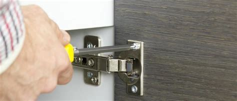 How To: Kitchen Cupboards   Hinge Types Explained