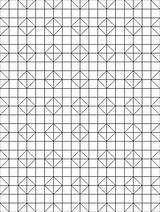 Coloring Quilt Patterns Shoo Fly Block sketch template