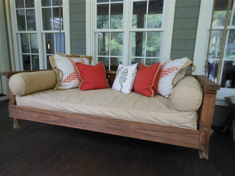 avari swing bed  vintage porch swings charleston sc traditional porch swings