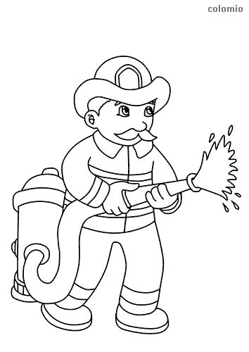 fire trucks coloring pages  printable fire