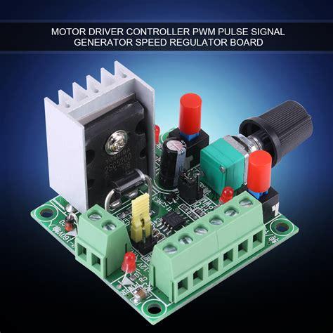 Stepper Motor Controller Pwm Pulse Signal Generator Speed